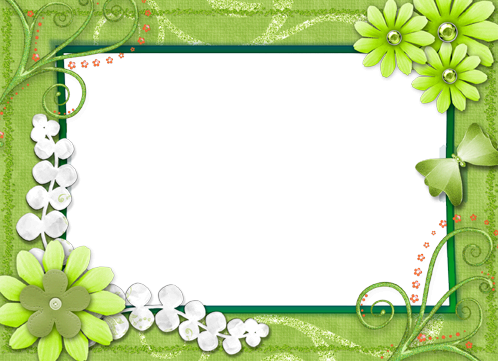 Photo frame - All green around