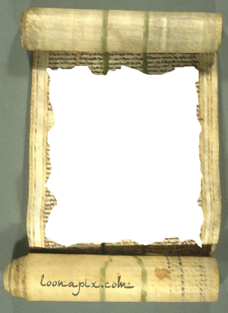 Photo frame - Ancient roll