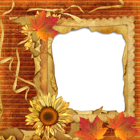 Photo frame - Another autumnal frame