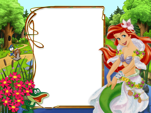 Photo frame - Princess Ariel