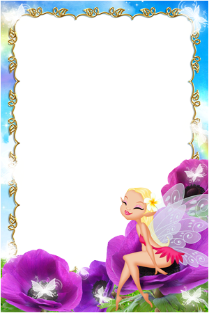 Photo frame - Baby little fairy