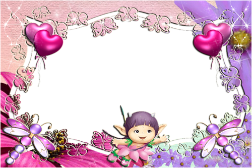 Photo frame - Cute baby world