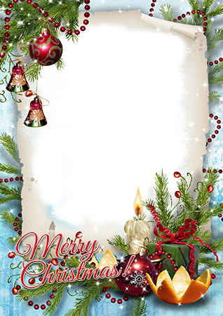 Photo frame - Best wishes on Christmas