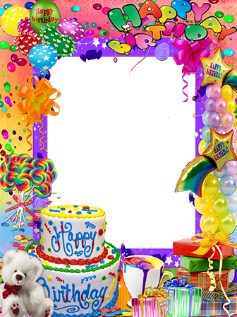 Photo frame - Birthday party accessories