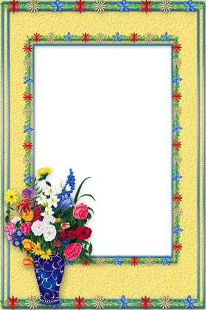 Photo frame - Bunch of flowers