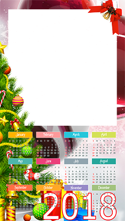 Foto lijsten - Calendar 2018. Christmas is coming