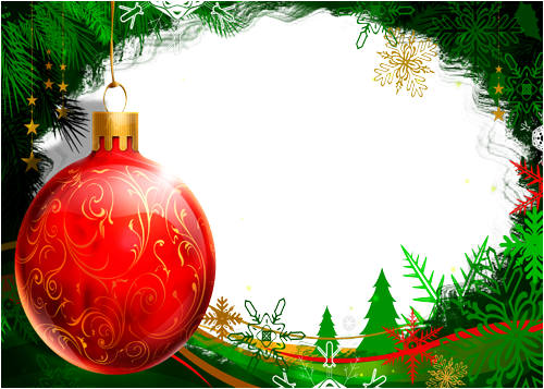 Photo frame - Christmas decoration