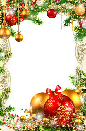 Photo frame - Christmas decorations