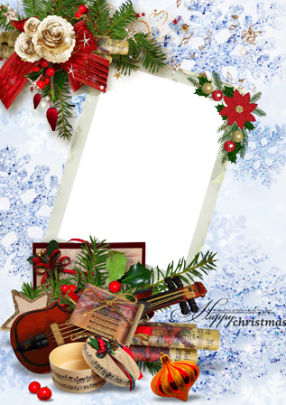 Photo frame - Christmas melody