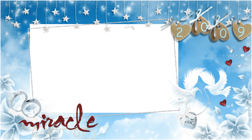 Photo frame - Christmas miracle