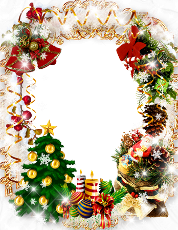 Photo frame - Christmas wreath