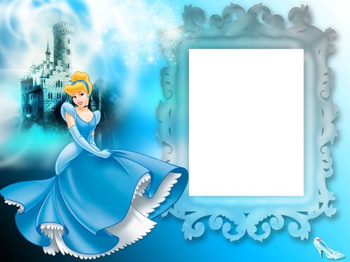 Photo frame - Cinderella