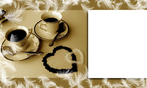 Photo frame - Coffee for couple