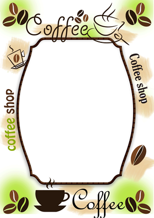 Photo frame - Coffee cup