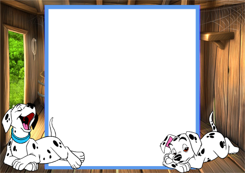 Photo frame - Dalmatians