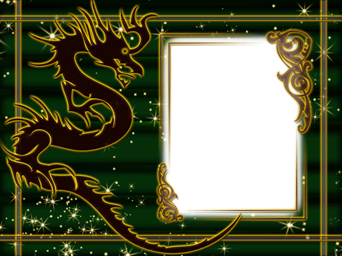 Photo frame - Dragon's sight