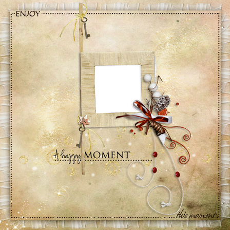 Photo frame - Enjoy this moment