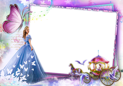 Photo frame - Fairytale princess