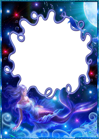 Photo frame - Fantasy mermaid