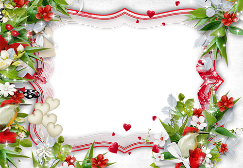 Photo frame - Feel the freshness of flowers