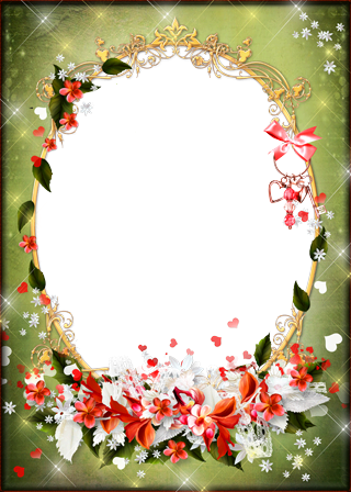 Photo frame - Flowerets