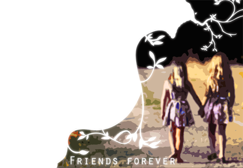 Photo frame - Friends forever