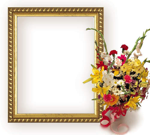 Photo frame - Bouquet  of flowers
