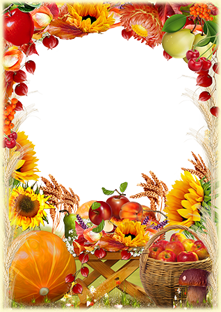 Photo frame - Gifts of Autumn