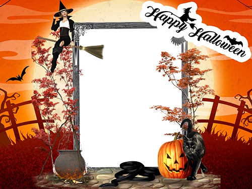 Photo frame - Halloween is a real treat