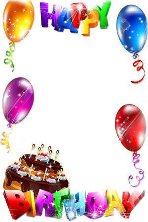 Happy Birthday Frame Png frame - Happy birthday to