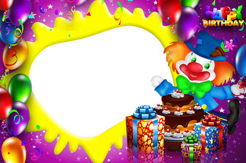 Happy Birthday Frame Png frame - Happy Birthday