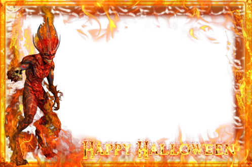 Photo frame - Happy Halloween