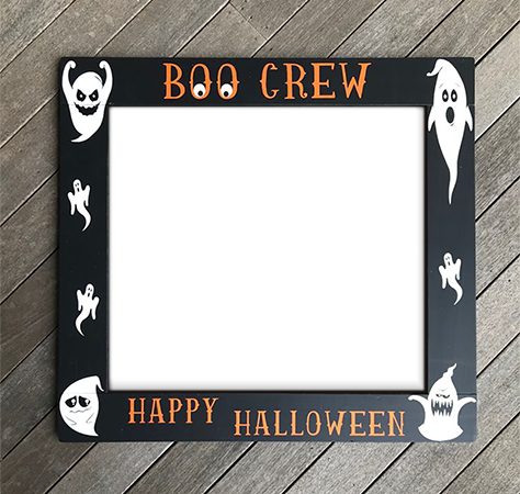 Photo frame - Happy Halloween. Boo crew
