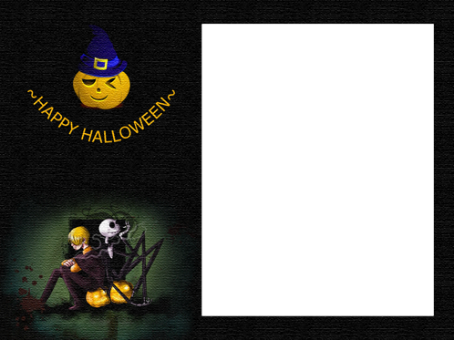 Photo frame - Happy Halloween to you