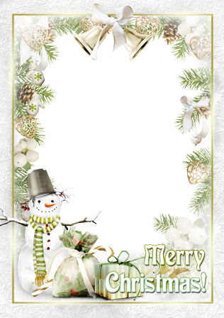Photo frame - Ho ho ho! Merry Christmas to you!
