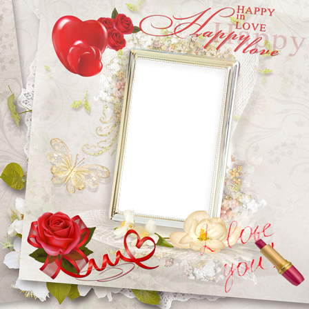 Photo frame - In that joyful wedding day...