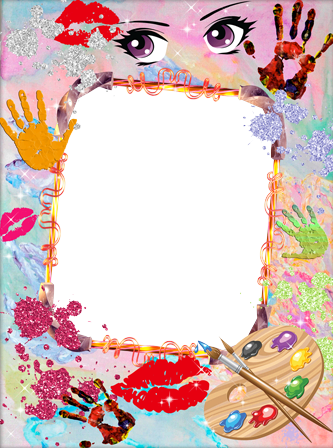 Photo frame - Kids creation