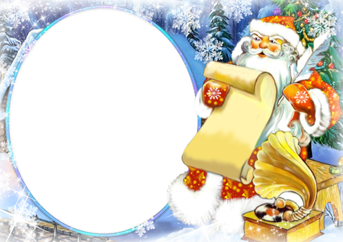 Photo frame - Letter of Santa