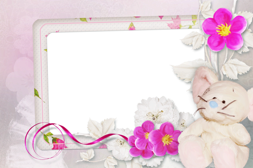 Photo frame - Little mouse