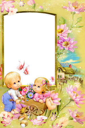 Photo frame - Lovely kids