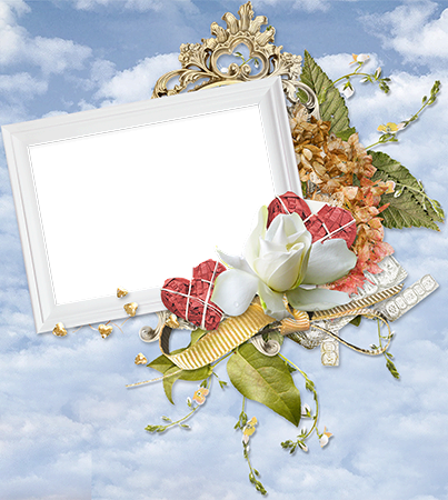 Photo frame - Love you now and forever