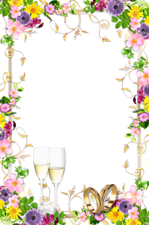 Photo frame - Magnificient summer wedding
