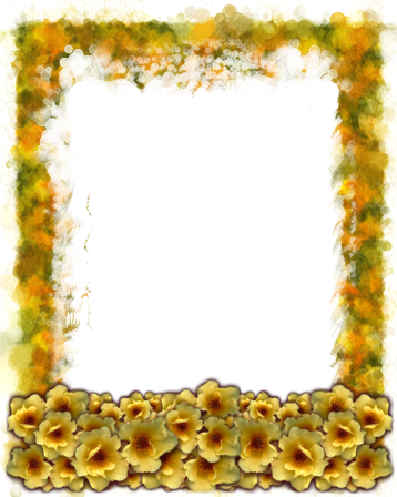 Photo frame - Meadow flowers