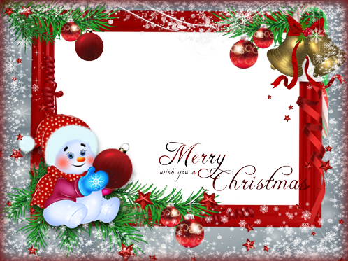 Photo frame - Merry Christmas sweety
