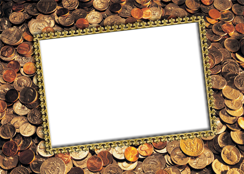 Photo frame - Money is money