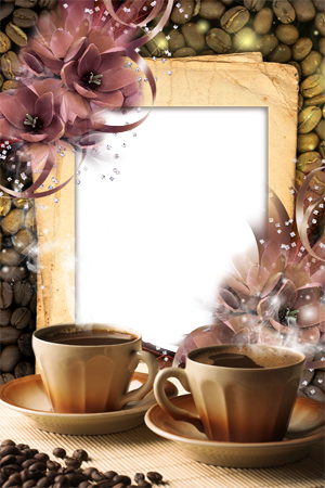Photo frame - Morning coffe
