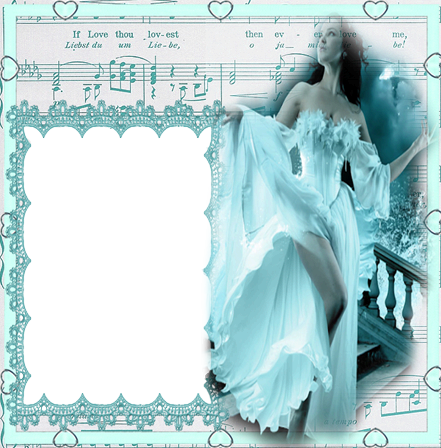 Photo frame - Musical inspiration