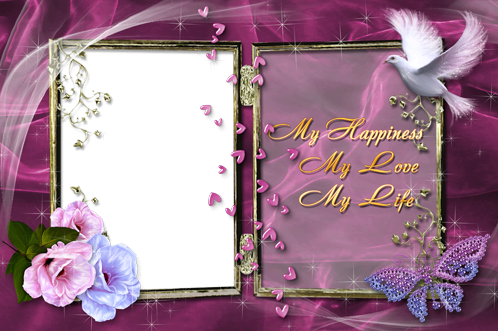Photo frame - My happiness