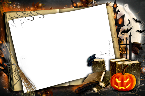 Photo frame - My funny Halloween