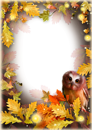 Photo frame - Mysteries of the autumn forest
